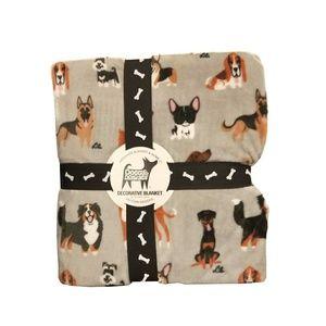 Berkshire Blanket & Home Co Doggie Drawings